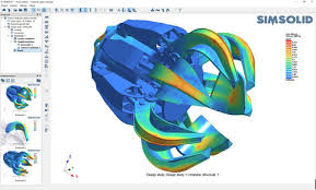 Meshless CFD with SIMSOLID